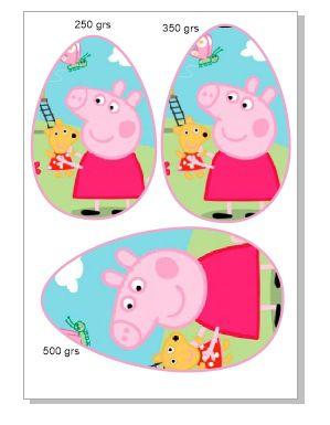 PAPEL OVO COLHER 3 EM 1 peppa pig