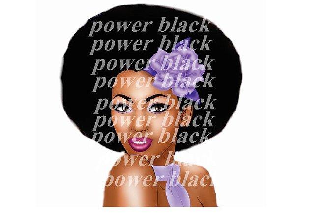 Papel arroz Power Black mulata