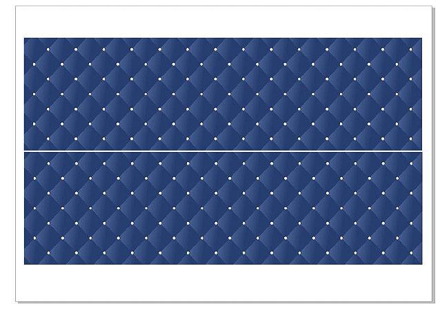 Faixa Caitoné azul marinho