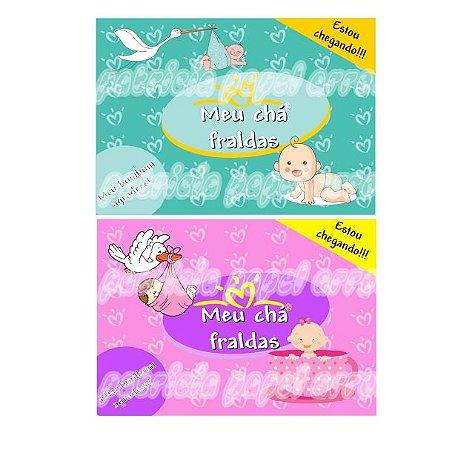 Kit papel arroz chá bebê A4