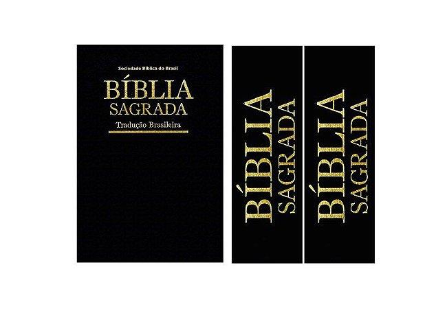 KIT BÍBLIA SAGRADA+2 FAIXAS LATERAIS