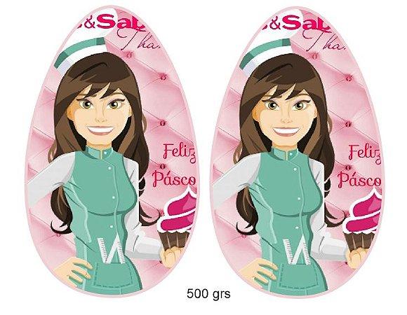papel ovo colher personalizado 500 grs