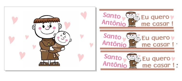 KIT SANTO ANTONIO+3 FAIXAS
