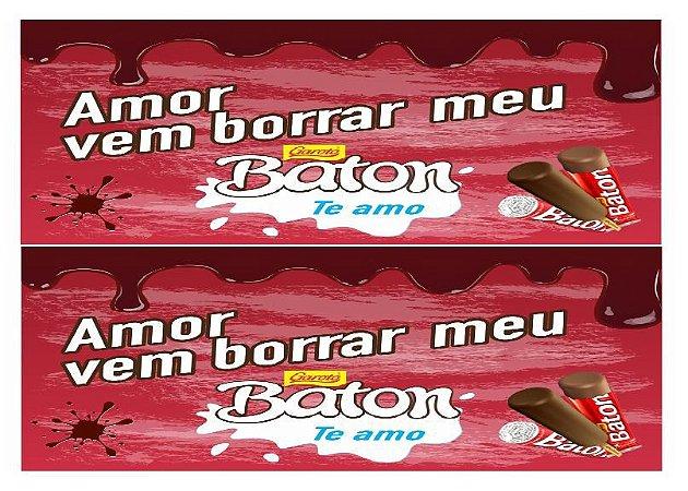 FAIXA NAMORADOS BATOM 9CM
