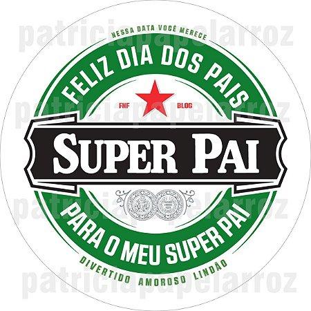 SUPER PAI A4 REDONDO
