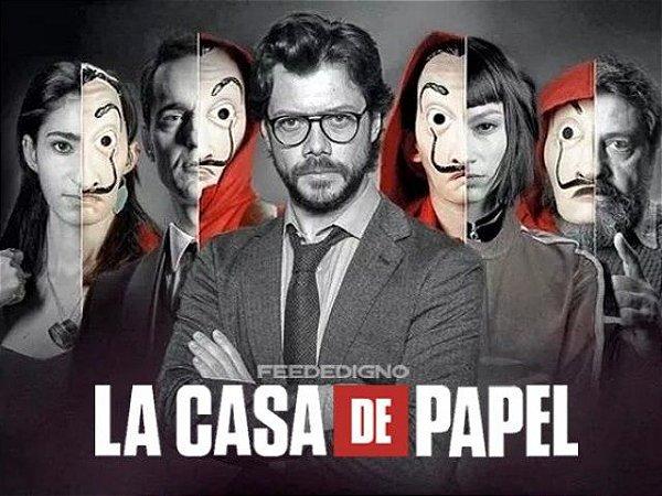 LA CASA DE PAPEL 04 A4
