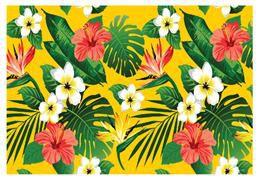 floral tropical 01