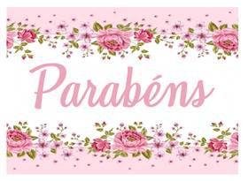 PARABÉNS FLORAL 04