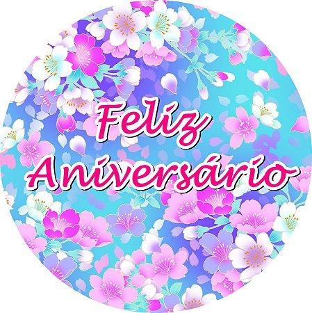 FELIZ ANIVERSARIO FLORAL  01 A4
