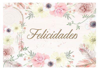 FELICIDADES 03 A4