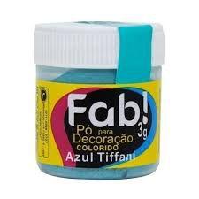 PÓ DECORAÇÃO  ZUL TIFFANY FAB 3G