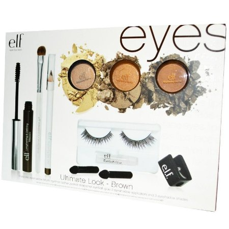 Kit de maquiagem e.l.f Ultimate Look - Brown