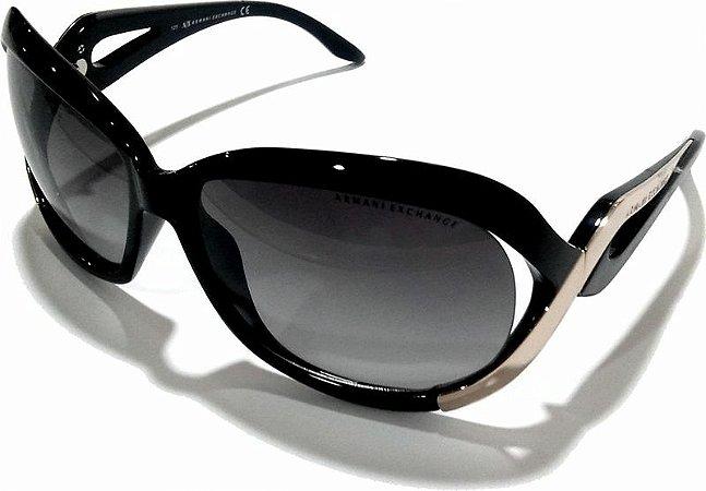 Armani Exchange Oculos De Sol Fem Ax126/s Preto