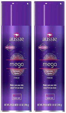 Aussie Mega Hairspray Fixador Finish