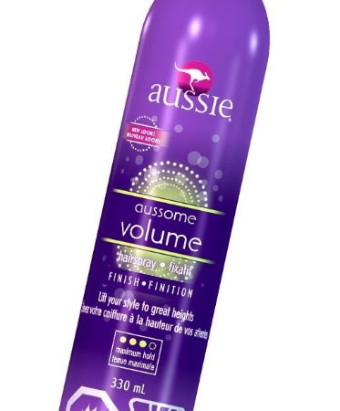 Aussie Aussome Volume Hairspray Fixador Finish