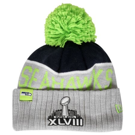 Gorro Touca Seattle Seahawks Sport Knit 15 - New Era