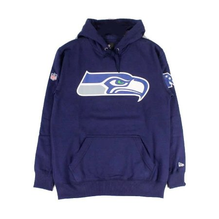 Casaco Moletom Seattle Seahawks Permanente - New Era
