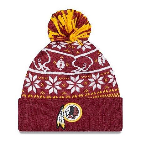 Gorro Touca Washington Redskins Sweater Chill - New Era