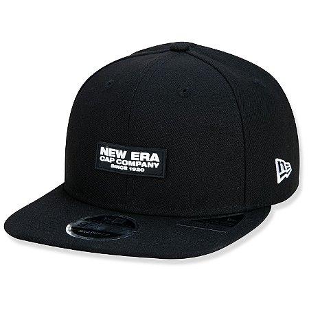Boné New Era 950 Have Fun Rubber Cap Company Aba Reta Preto
