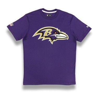 Camiseta Baltimore Ravens Roxo - New Era