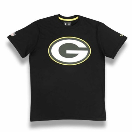 Camiseta Green Bay Packers Preto New Era