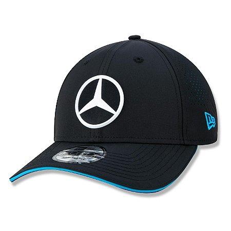 Boné New Era Mercedes-Benz 940 EQ Formula E Aba Curva Preto