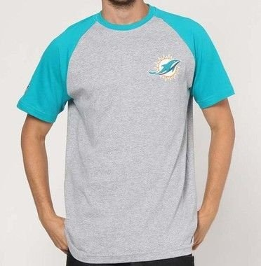 Camiseta Miami Dolphins Blazon NFL - New Era
