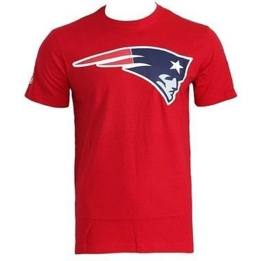 Camiseta New England Patriots Vermelha - New Era
