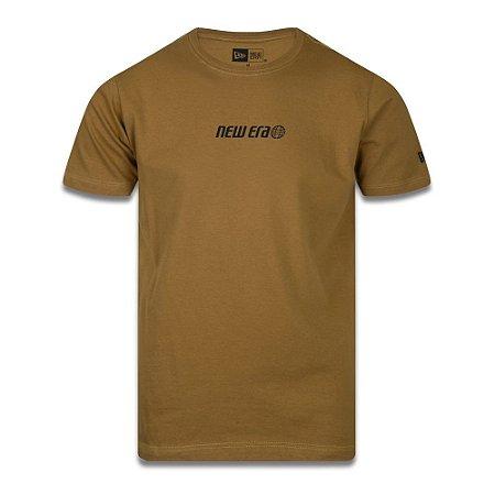 Camiseta New Era Offline Survivor World Mostarda