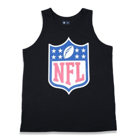 Regata NFL Logo Basic Preta - New Era