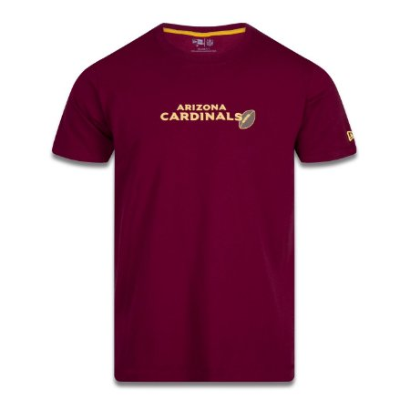 Camiseta New Era Arizona Cardinals NFL Core Ball Bordô
