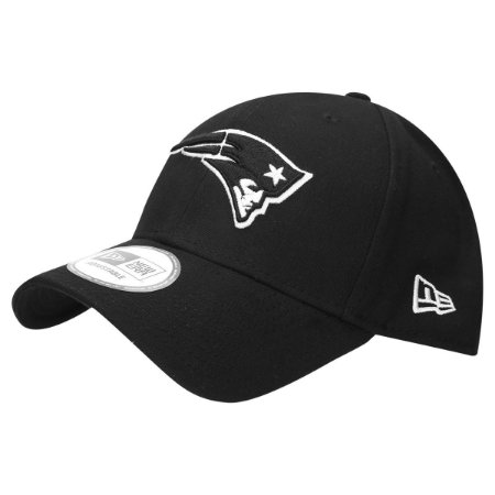 Boné New England Patriots 940 Snapback White on Black - New Era