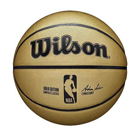 Bola de Basquete Wilson NBA Gold Edition Tamanho 7