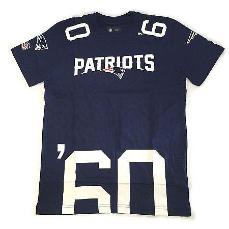 Camiseta New England Patriots Number Cut NFL - New Era