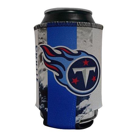 Porta Latinhas Neoprene Tennessee Titans NFL Azul