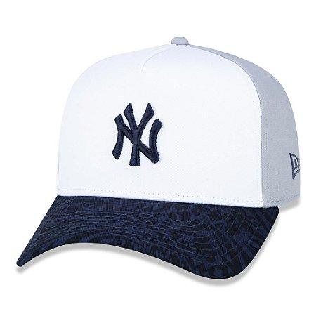 Boné New Era New York Yankees 940 Fresh Block Aba Curva