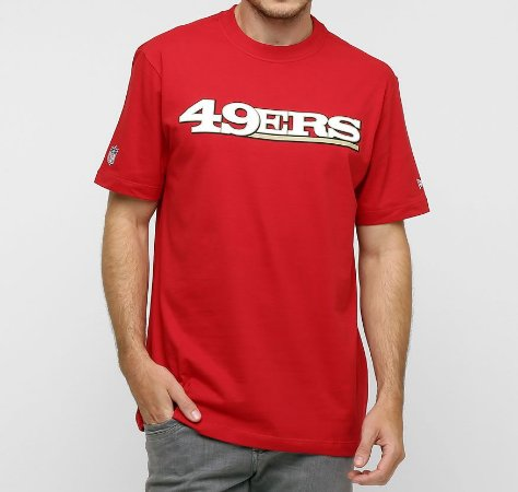 Camiseta San Francisco 49ers Newperm NFL - New Era