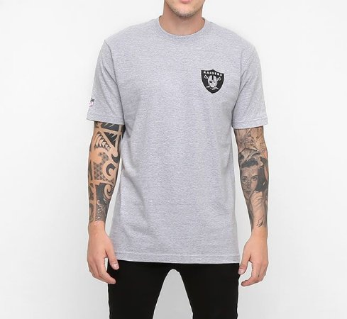 Camiseta Oakland Raiders Mesh Numbers NFL - New Era