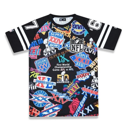 Camiseta NFL SuperBowl Prints - New Era