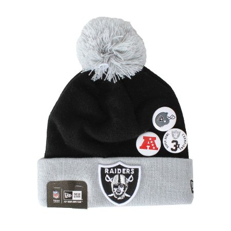 Gorro Oakland Raiders NFL Status Pin - New Era