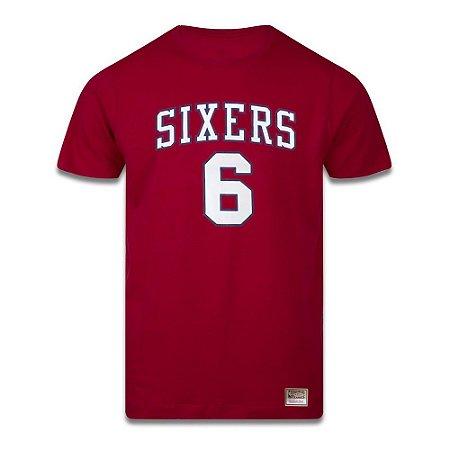 Camiseta M&N NBA Philadelphia 76ers Sixers Julius Erving 6