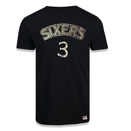 Camiseta Mitchell & Ness Philadelphia 76ers Allen Iverson 3