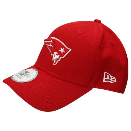 Boné New England Patriots 940 Snapback White on Red - New Era