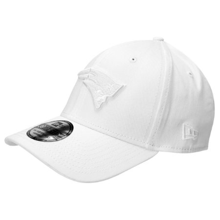 Boné New England Patriots 3930 Branco White on White - New Era
