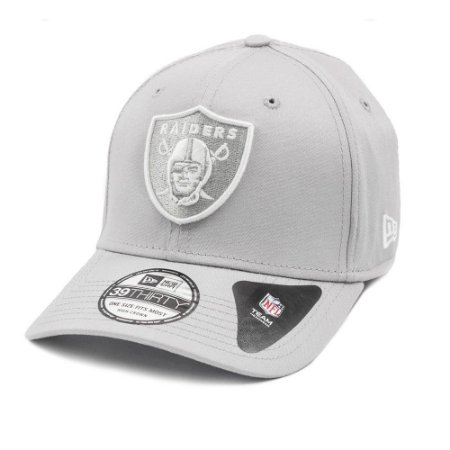 Boné Oakland Raiders 3930 White on Gray - New Era