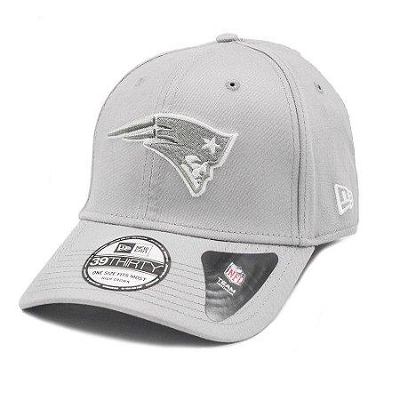 Boné New England Patriots 3930 White on Gray - New Era