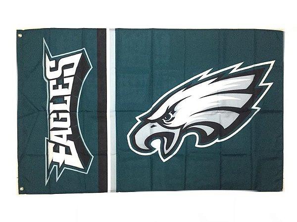 Bandeira Philadelphia Eagles NFL - Grande