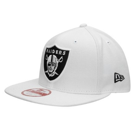 Boné Oakland Raiders 950 Black on White  - New Era