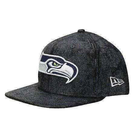 Boné Seattle Seahawks Cracked Shine 950 Snapback - New Era