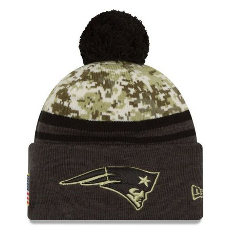 Gorro New England Patriots Salute To Service STS Militar - New Era